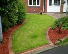 An Eurostyle Edge and a Turf Installation