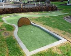 Crazy Golf Course Edging