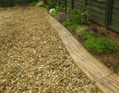 A Closer Look at a Fantastic Eurostyle Rustic Wood Effect Slurried Edging
