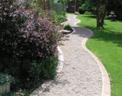 A Wonderful Eurostyle Garden Pathway from France