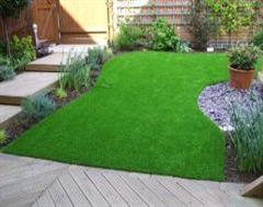 Artificial grass installation in Upton