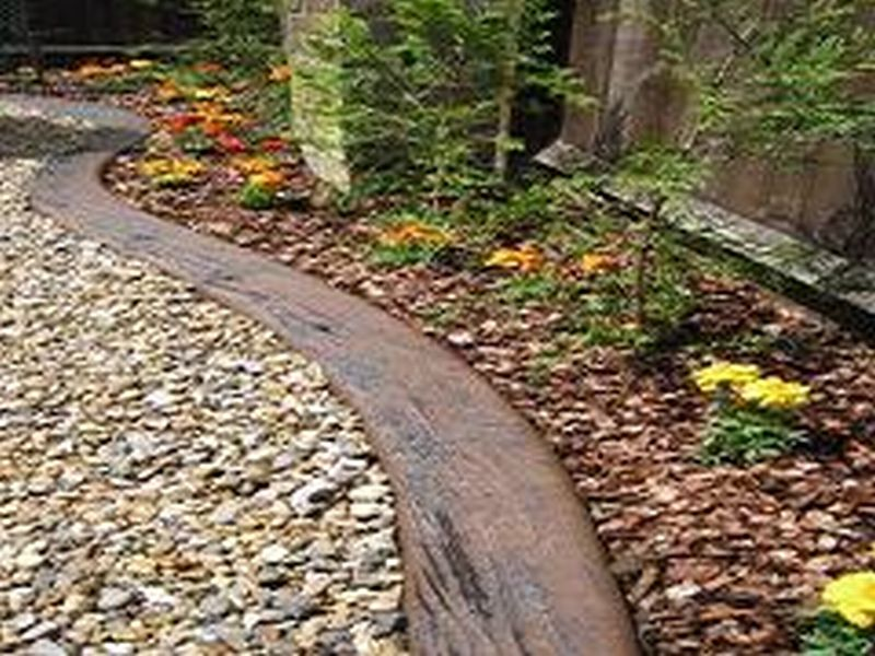 Landscape Edging Rustic : Garden lawn edging border and products in the uk