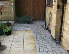 A Quality Finished Stencilled Pathway