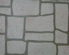 A Close up of a Stencil Pathway