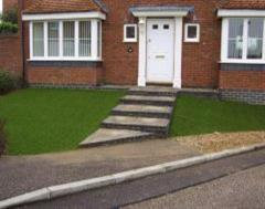 Artificial Grass as a front Lawn