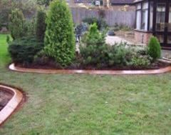 Examples Of Our Previous Lawn Edging Driveway Edging And