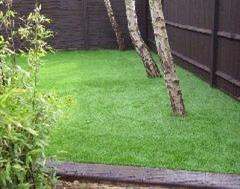 Artificial Grass and Eurostyle Edging in Kinsoe Leys