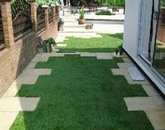 Kwik Kerb Artificial Grass at it's best
