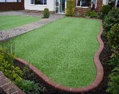 A fantastic Artificial Grass and Kwik Kerb Edging from Kwik Kerb Dorset