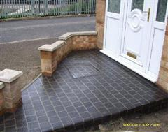 A small but effective Stenccil Concrete in Bletchley