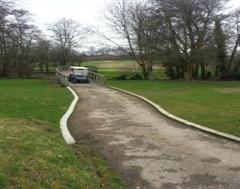 More Golf Buggy Kerbing at The Grove Golf Club