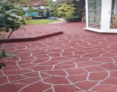 Another view of this fantastic Stencil Concrete job by Kwik Kerb Dorset