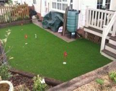 Artificial Grass Mini-Golf