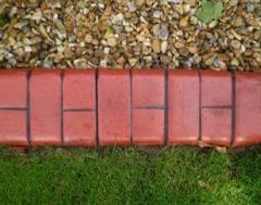 Close Up of Brick Red Eurostyle